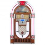 Frontal de la gramola jukebox Ricatech 3100