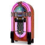 Gramola Jukebox Auna Graceland XXL modelo años 50 precios baratas económicas mejores ofertas