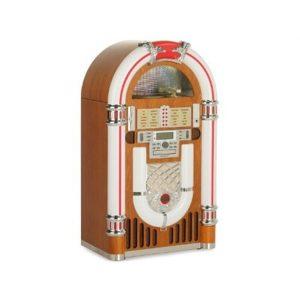Gramola jukebox Ricatech 3100 con tocadiscos y Bluethoot económica precios oferta