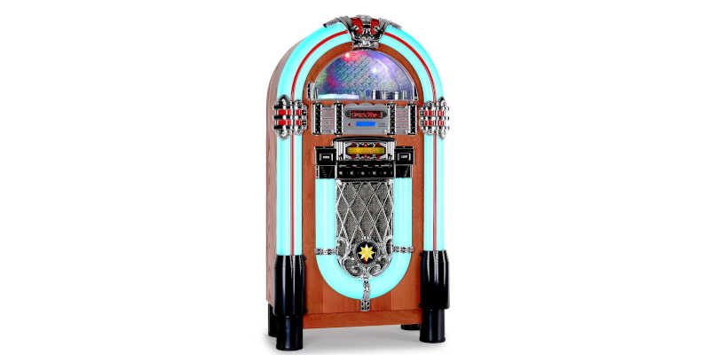 La gramola Jukebox Auna Graceland XXL