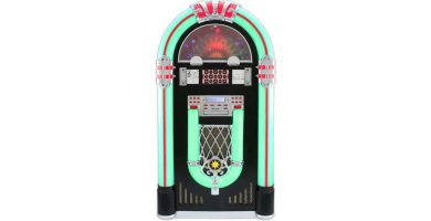 Gramola Jukebox MonsterShop Ruedas