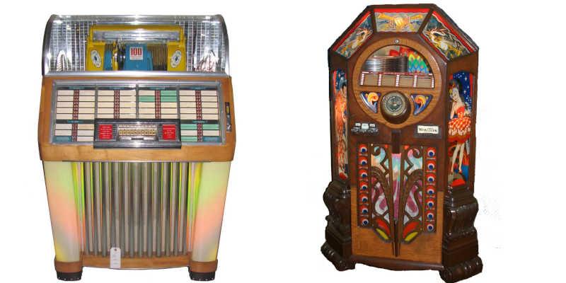 Gramolas jukebox antiguas de segunda mano