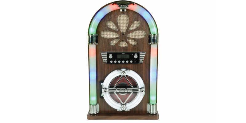 Mini jukebox Roadhouse QTX barata barato baratas baratos precio precios comprar segunamano seguna mano wallapop milanuncios mil anuncios